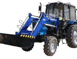 Фото к Погрузчик фронтальный двухчелюстной ПФ800-2 (к трактору ДТЗ 504) (объем ковша 0,48м3)