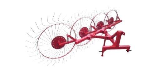 Фото к Грабли колесно-пальцевые «Солнышко» на 4 колеса (Н)