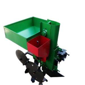 Фото к Картофелесажалка однорядная КСН-1М (45л) с бункером для минеральных удобрений